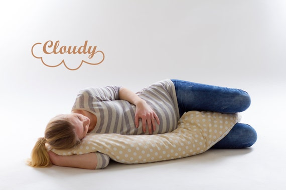 Pregnancy Pillow Oganic Buckwheat Hulls Pillow Maternity