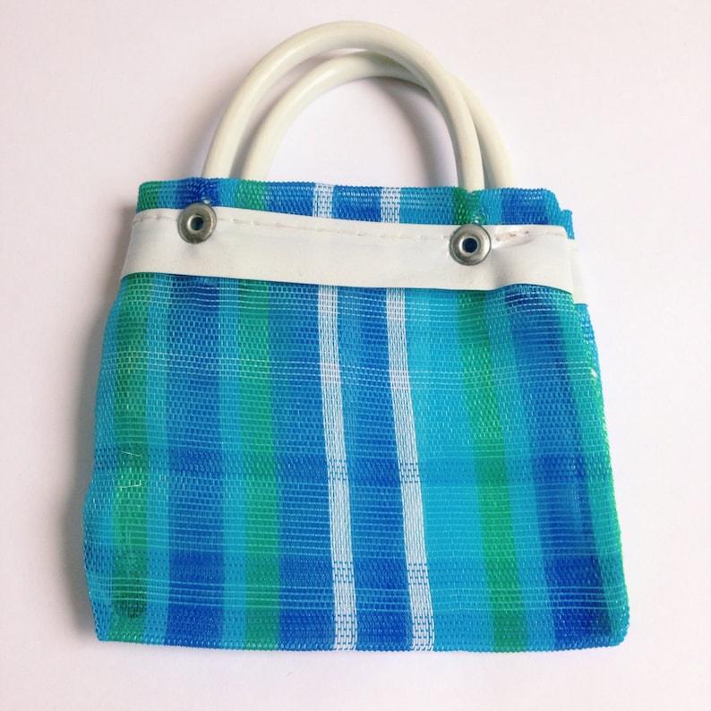 Set of 10 Small Mexican Mercado Market Shopping Bag Small   Chalupa Mexican Mercado Bags