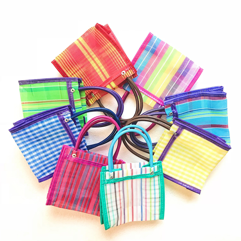 Mexican Mercado Bag 50 mini party favors gift bags   Chalupa Mexican Mercado Bags