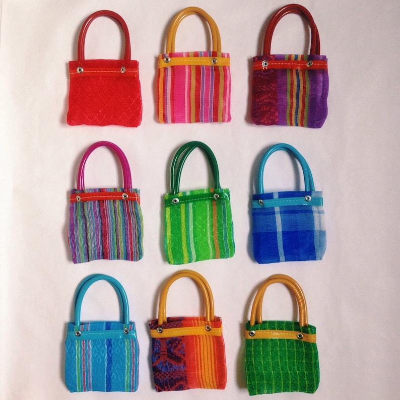 Mexican Mercado Bag 6 small party favors gift bags free   Chalupa Mexican Mercado Bags