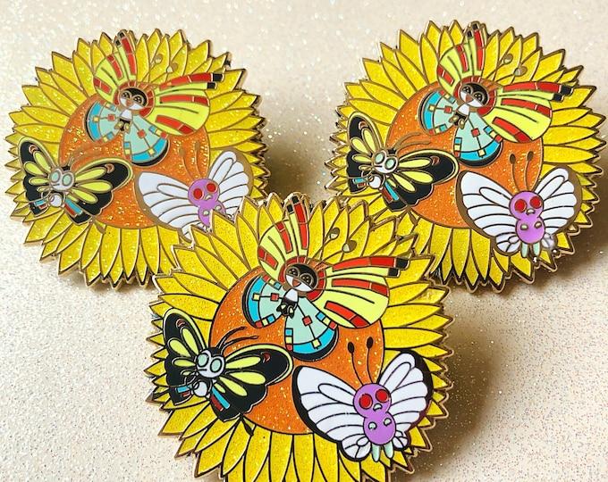 Pokemon Butterfly enamel pin