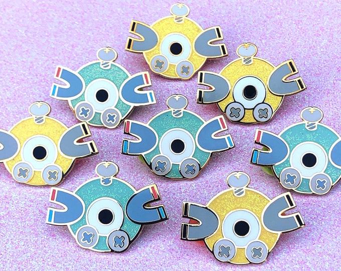 Magnet Enamel pins