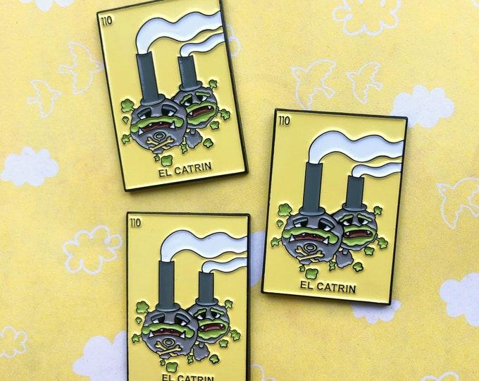 Loteria Galarian Weezing Enamel Pin