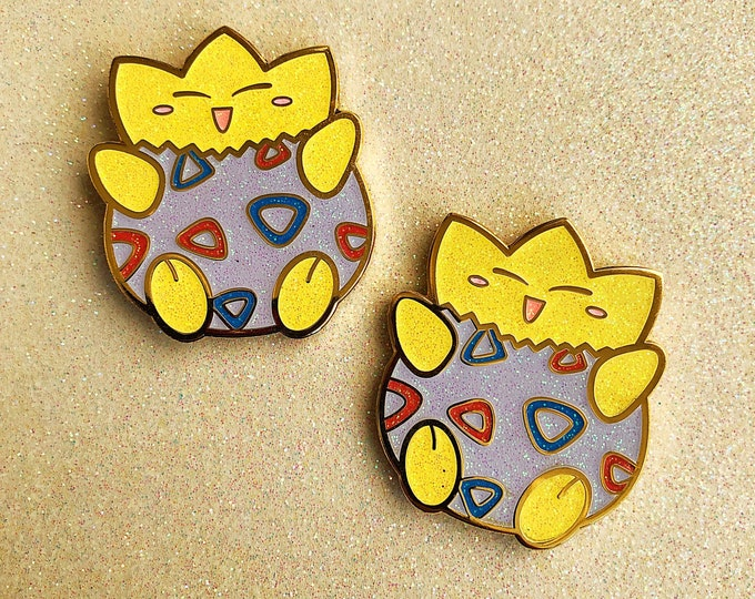 Shiny Togepi Enamel Pin