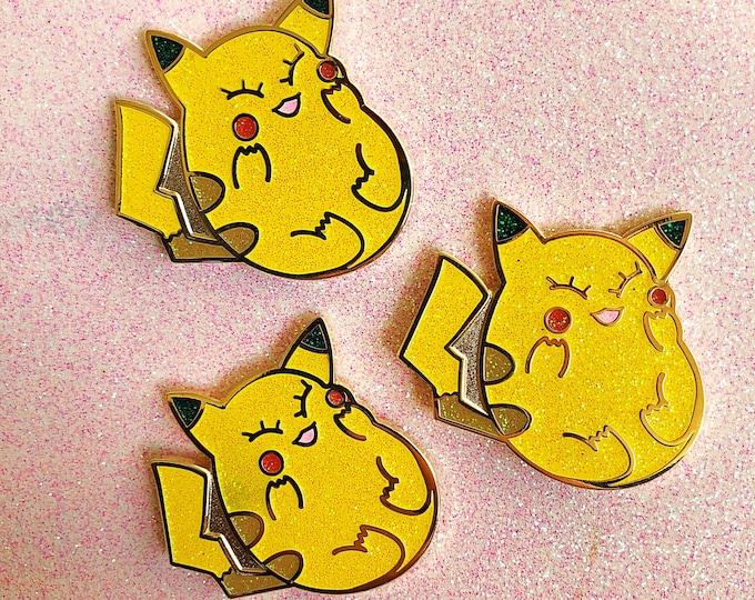 Pikachub Shiny Enamel Pin
