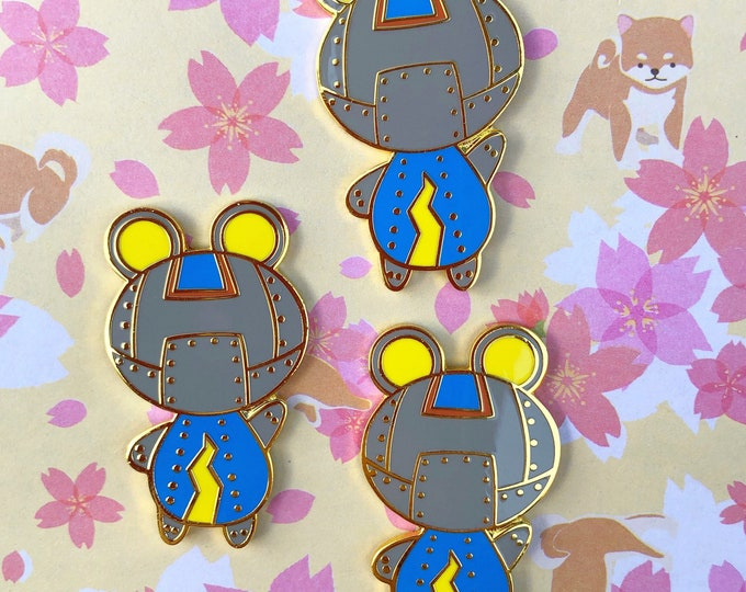 Ribbot Enamel Pin