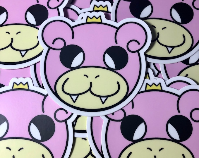 King Slowpoke Sticker