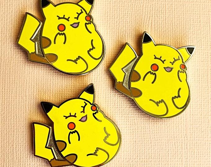 Pikachub Enamel Pin