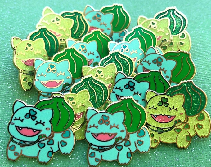 Bulbasaur Hard enamel pin