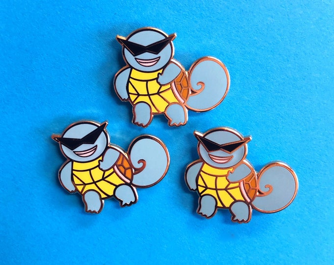 Squirtle Squad Enamel Pin