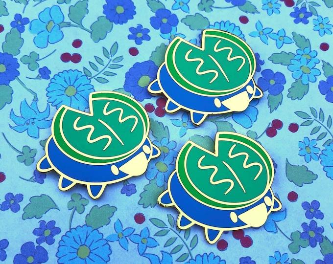 Lily pad Enamel Pin