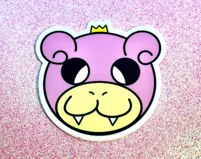 King Slowpoke Sticker