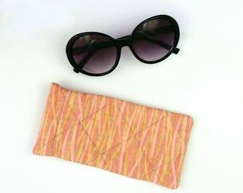 Glasses case sunglasses case sunglasses pouch eyeglasses case glasses slip case eyeglass case sunglasses cover glasses bag glasses pouch