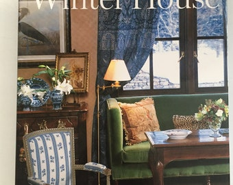 Winter House by Charlotte Moss. First edition vintage hardcover book