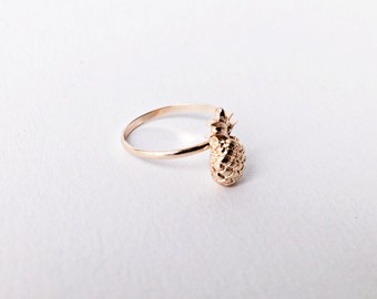 Pineapple Ring ROSÉGOLD, Minimalistic Rings