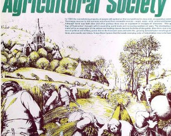 Future Fictions  1) Agricultural Society  - the main features of technology in Europe before the Industrial Revolution.