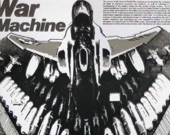 Future Fictions  7) War Machine  - war as impetus to technological development.