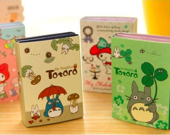 Totoro sticky notes book post it notes cute kawaii