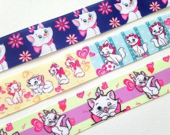 Marie cat kitty cute kawaii kitsch grosgrain ribbon