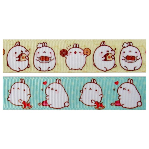 Molang podgy potato rabbit cute kawaii kitsch washi sticky masking deco tape