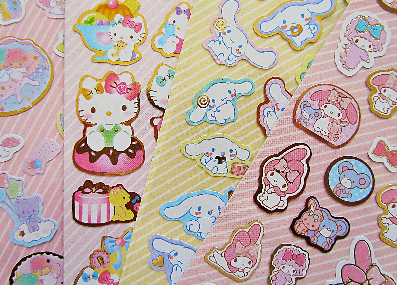 New Sanrio Sanrio Little Twin Stars seal sticker KAWAII cute Japan free shipping