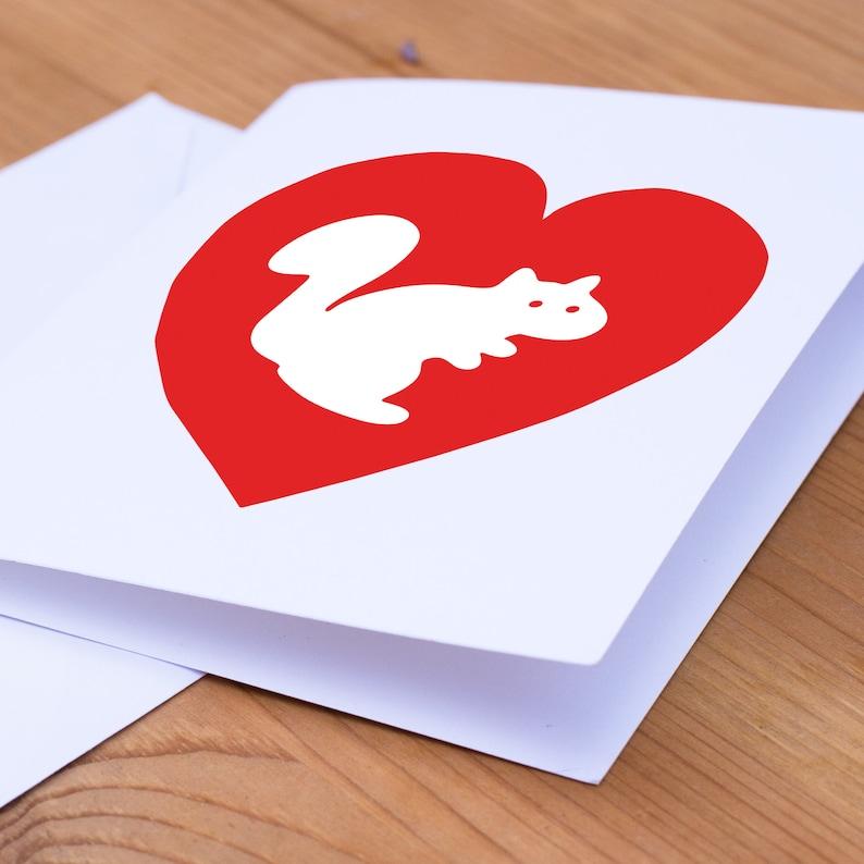 White Squirrel Heart