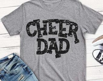 Cheer svg, CheeR DAD svg, Cheer DaD Shirt, svg, grunge, vintage, distressed, Cheer, Shirt, cheerleader, daddy, grandpa, dxf, shortsandlemons