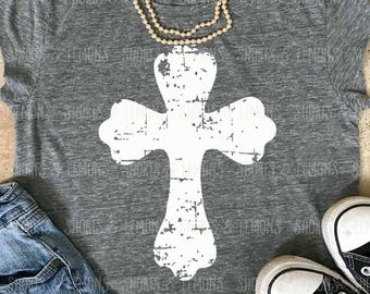 Cross svg, christian svg, distressed cross, Easter svg, svgs, vintage easter shirt, jesus svg, cross, Christ, SVG, DXF, EPS, distressed svg