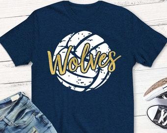 7f4b34f4a Wolves svg, volleyball svg, wolves, svg, volleyball Mom shirt, volleyball,  shirt, dxf, svg, png, grunge, shortsandlemons, digital download