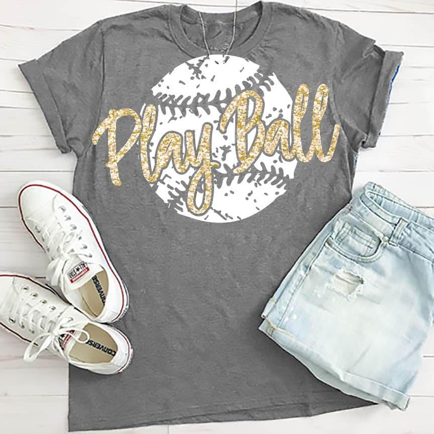 Play Ball svg Baseball svg baseball mom svg shirt | Etsy