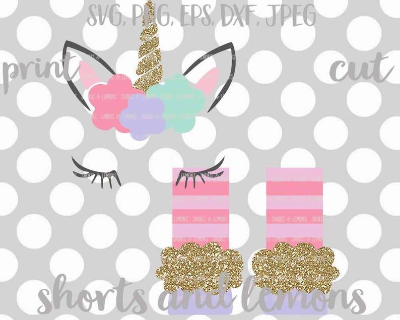 Unicorn SVG, unicorn legs svg, birthday unicorn SVG, unicorn shirt,  birthday svg, DXF, unicorn monogram set, shortsandlemons, svgs, dxf, eps