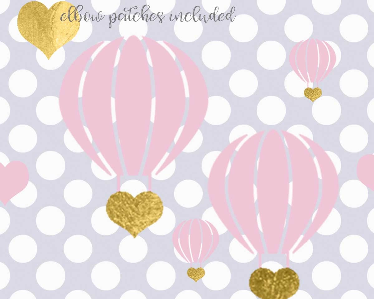 Baby Shower SVG Little Girl svg hot air balloon svg Sweet | Etsy