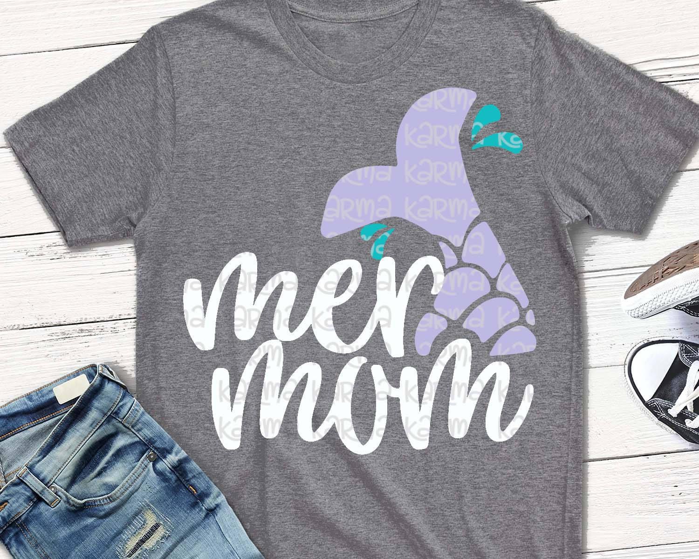 fddb5250 MERMAID svg Mermaid mom mer mom svg mermaid shirt svg   Etsy