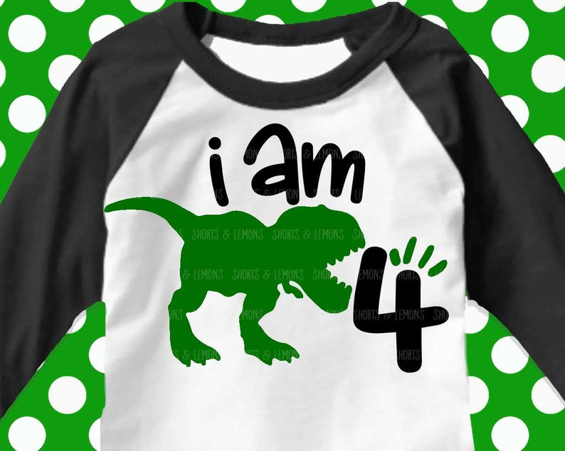 7d138dc1f7d0 Dinosaur svg boys birthday SVG birthday 1st 2nd 3rd 4th