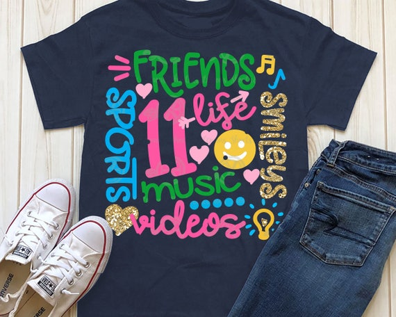 11 Year Old Svg Life Music Eleven