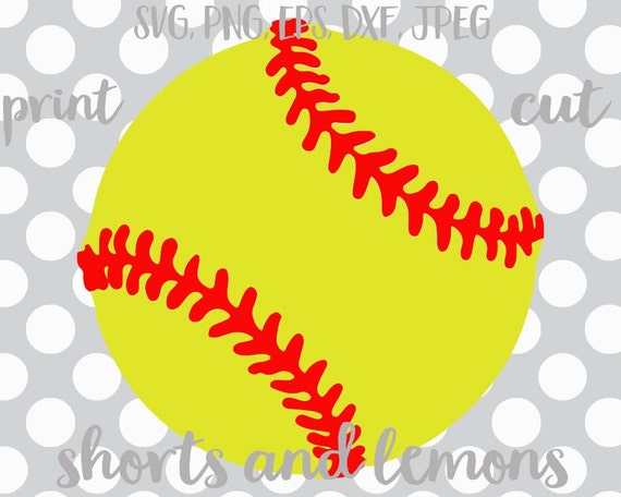 softball shorts and lemons nouns vector softball svg rh etsy com Cartoon Softball Clip Art Softball Stitches Clip Art