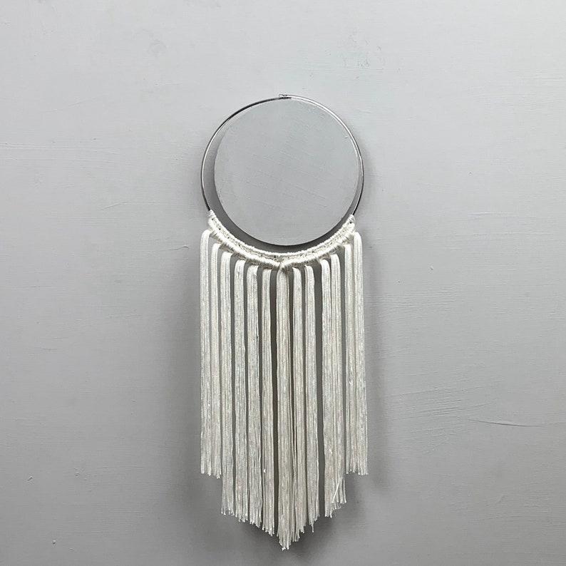 CLIO Long Macrame Fringe Necklace Alternative style Nu Goth necklace Modern Goth jewelry Gift ideas Statement Black Macrame necklace