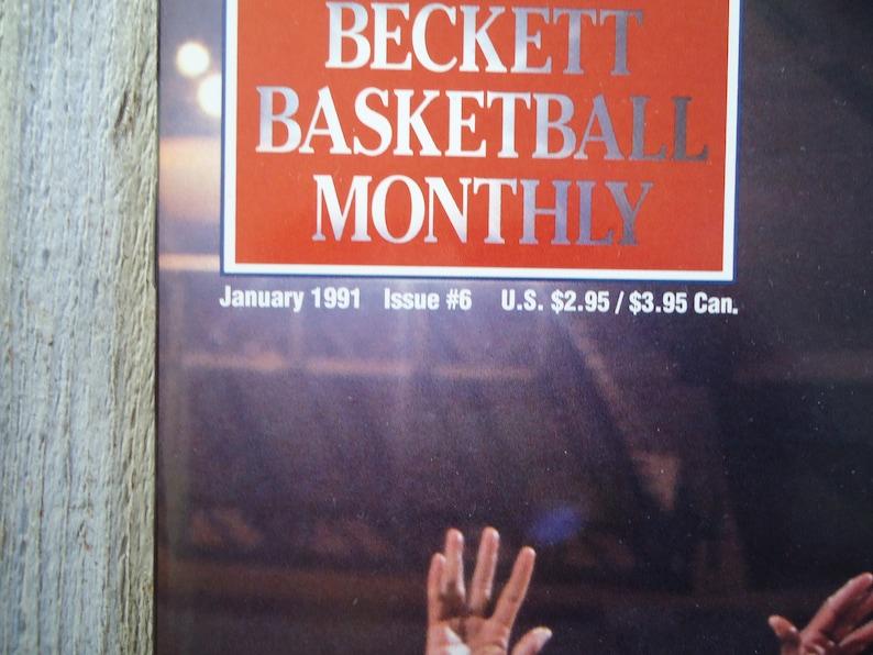 8e8f6d47e4df Patrick Ewing Magazine New York Knicks cadeau Vintage Knicks | Etsy