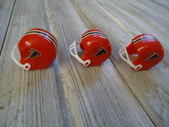cheaper 2e3be 3f12d Atlanta Falcons, Vintage NFL Mini helmets, Atlanta Falcons gift, NFL Gift,  Man cave decor, Falcons Football gift, Old Football helmet, ATL
