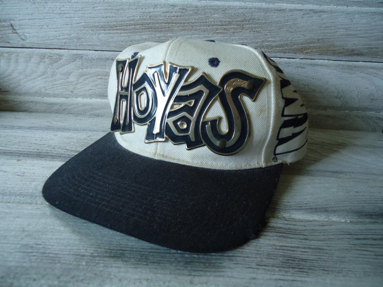 37323453da3ff Vintage Georgetown Hoyas hat Vintage sports hat Georgetown