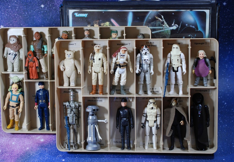 Pack of Vintage Star Wars Princess Leia Action Figure Custom Capes 5