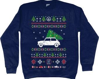 2163b460e03a Mini Cooper Christmas Jumper