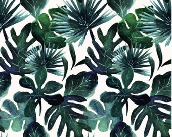 Take Me to the Tropics Crib Sheets, Organic Fitted Crib Sheet, Baby Bedding, Modern Crib Bedding, Minky Crib Sheets