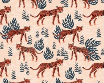 Wild Tigers -Organic Fitted Crib Sheet, Baby Bedding, Modern Crib Bedding, Minky Crib Sheets, Gender Neutral Crib Sheet