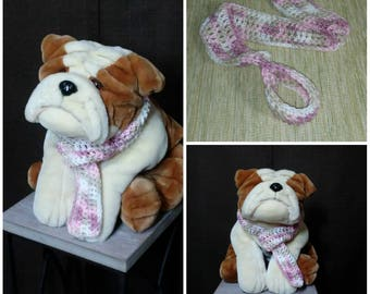 Crochet dog scarf Dog snood Pet neckwear Infinity dog scarf Dog winter scarf Crochet dog snood Crochet dog cowl Dog neckwarmer Scarf for dog