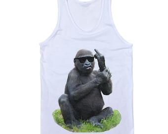 Monkey Middle Finger Tank