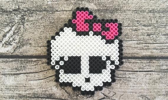 Monstre Poupée Tête De Mort Perler Bead Pixel Art