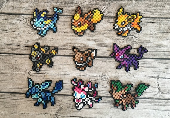 Eevee Evolutions Pixel Art Templates Design Templates