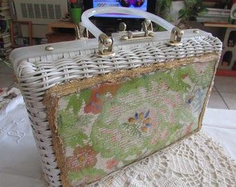 Vintage Princess Charming by Atlas Purse/Vintage Woven Purse/Vintage Atlas Handbag/Vintage Purse - NO OVERSEAS SHIPPING!!!