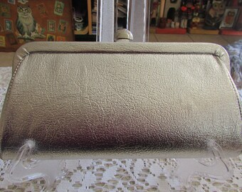 Vintage Silver Evening Bag/Vintage Evening Clutch Bag/Vintage Evening Bag/Vintage Silver Bridal Bag/Vintage Silver Clutch